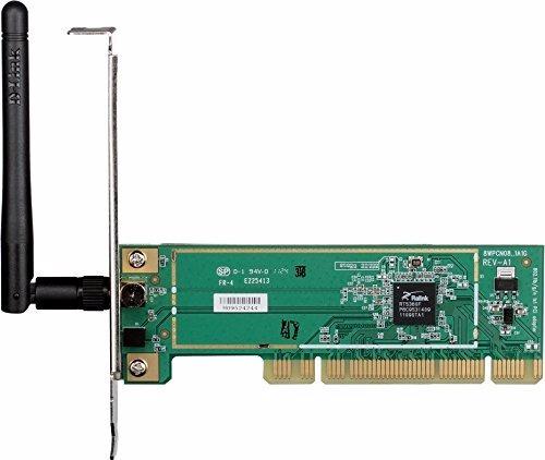 Placa De Red Pci 150mbps D-link Dwa-525, Funciona