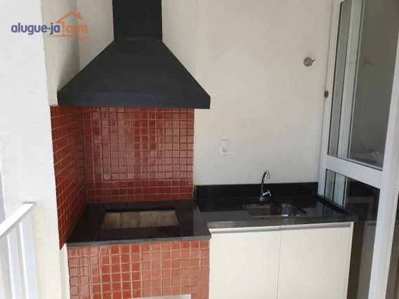 Lindo Apartamento Mobiliado Com 2 Dormitórios, Varanda C/ Churrasqueira Para Alugar, 52 M² Por R$ 1.650/mês - Urbanova - São José Dos Campos/sp - Ap7281