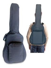Capa Guitarra Acolchoada Mellody Ka7 Impermeavel - Kadu Som