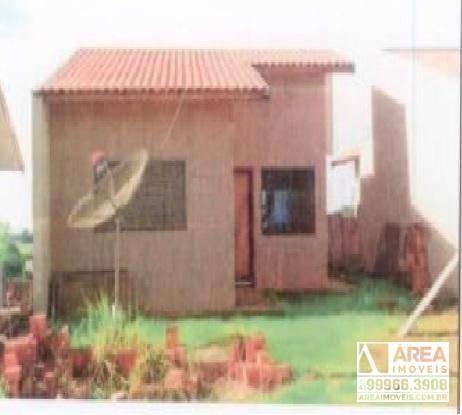 Casa Com 2 Dormitórios À Venda, 69 M² Por R$ 66.504 - Jardins - Cidade Gaúcha/pr - Ca0056
