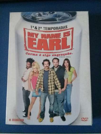 My Name Is Earl (série Completa - Dvd Original)