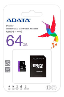 Memoria Microsd 64gb Adata