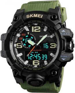 Reloj Hombre Skmei 1155 Militar Moderno Sumergible Army Spec