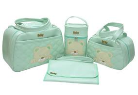 Kit Bolsa Maternidade Com 4 Peças