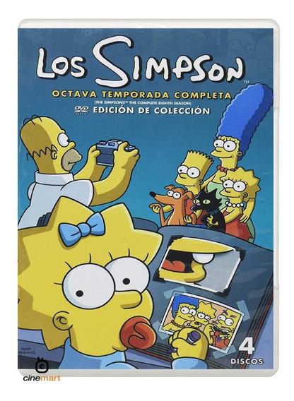 Los Simpson Ocatava Temporada 8 Serie Dvd