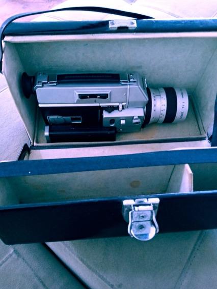 Filmadora Canon, Super 8, Alto Zoom 814