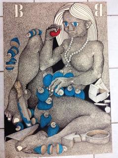 Arthur Cantalice Da Série Mulheres Bico De Pena, 1986