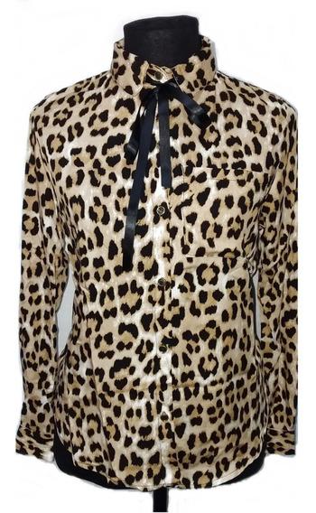 Camisa Animal Print Blusa Mujer Varios Diseños Y Talles