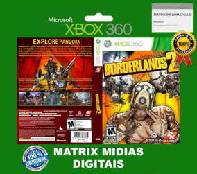 Borderlands 2 Xbox 360 Original-mídia Digital