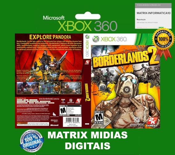 Xbox 360 Borderlands 2 Original-mídia Digital