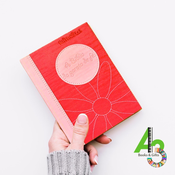 Lr18 Bíblia Da Garota De Fé Faithgirlz (rosa) Mundo Cristão