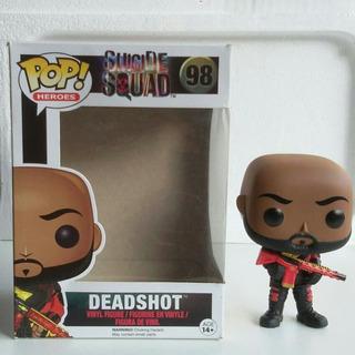 Funko Pop Deadshot Suicide Squad 98 Falta Blister Interno