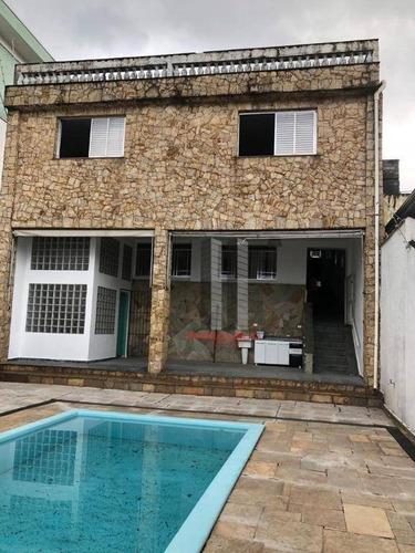 Casa Para Alugar, 400 M² Por R$ 6.000,00/mês - Mooca - São Paulo/sp - Ca0719