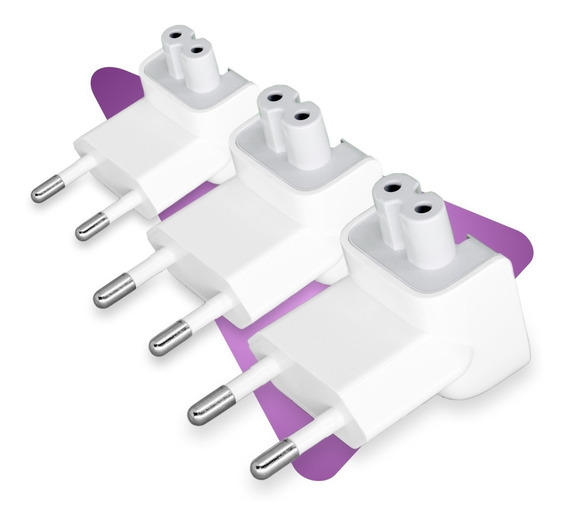 3 Plug Tomada Adaptador Fonte Mac Macbook Pro Air Retina