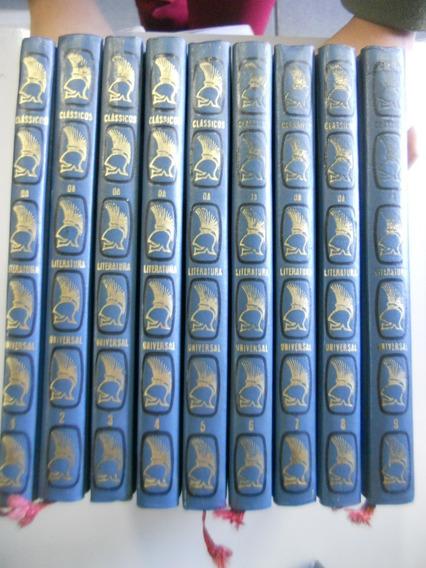 Coleção Clássicos Da Literatura Universal Cultrix 9 Volumes