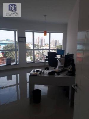 Sala Para Alugar, 60 M² Por R$ 1.500/mês - Vila Curuçá - Santo André/sp - Sa0441
