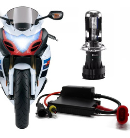 Kit Bi Xenon H4-3 Hid Para Motos 6000 E 8000k Marca Tech One