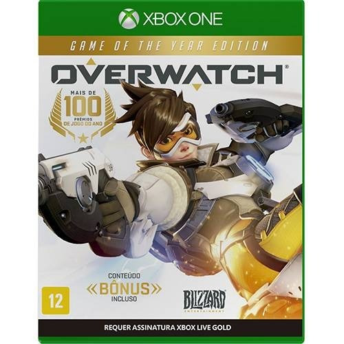 Jogo Overwatch Game Of The Year Edition Xbox One