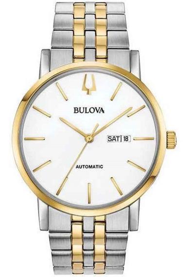 Relógio Bulova Masculino Automático 98c130