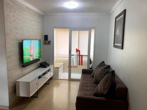 Imagem 1 de 15 de Apartamento Com 2 Dormitórios À Venda, 50 M² Por R$ 275.000,90 - Imirim - São Paulo/sp - Ap0763