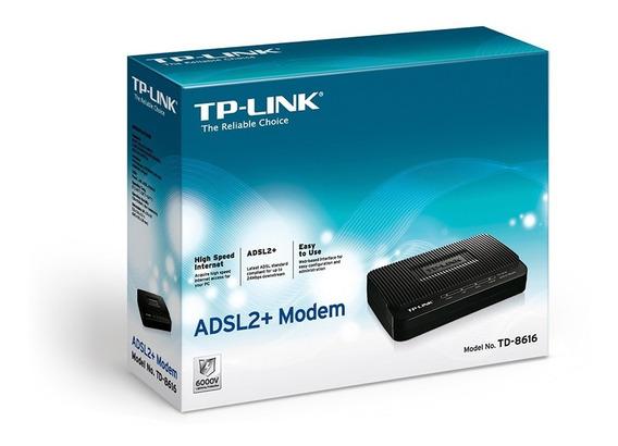 Módem Router Tplink Adsl+ Td-8816