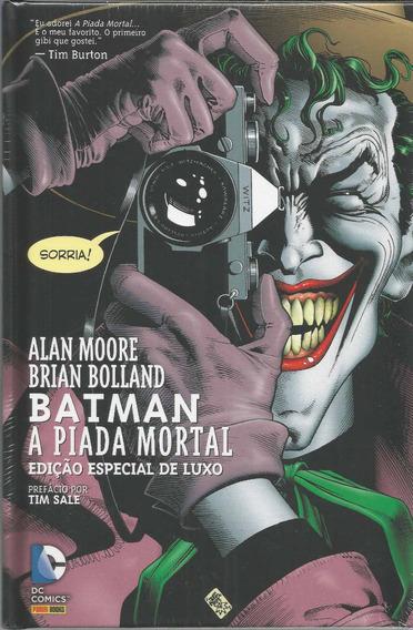Batman A Piada Mortal Edicao De Luxo - Panini Bonellihq H19