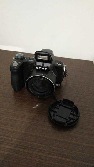 Máquina Fotografica Semi Profissional Sony