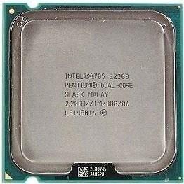 Processador Intel Dual-core E2200 Sla8x 1mb Cache 2,20ghz