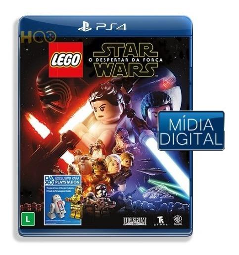 Lego Star Wars The Force Awakens - Ps4 Cod Psn I Imediata