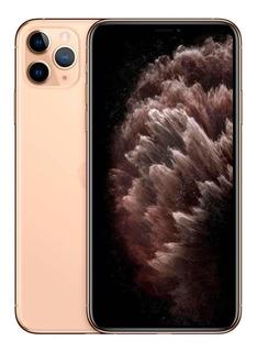 Apple iPhone 11 Pro Max 256gb 4gb 6.5 Dourado Anatel 12x