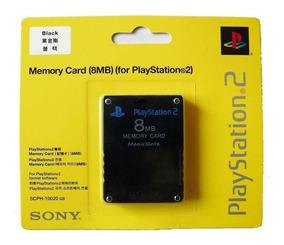 Memory Card Original Sony Playstation Ps2 Cartão De Memória