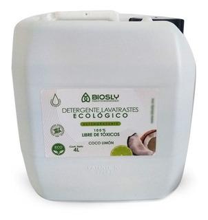 Lava Trastes Ecológico Desengrasante Coco-limón 4l