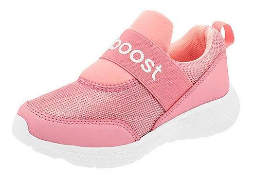 Tenis Tenis Boost 068 Niña Bebe Color Rosa Cov19
