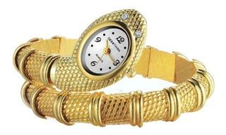 Reloj En Acero Inoxidable Y Cuarzo Original + Caja De Regalo