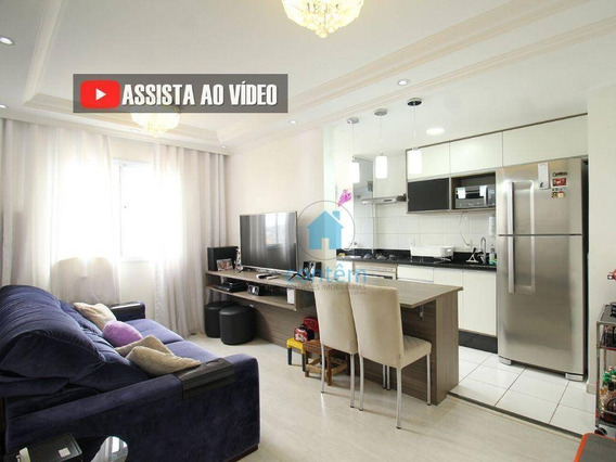Ap1531- Apartamento Com 2 Dormitórios À Venda, 45 M² Por R$ 210.000 - Vila Da Oportunidade - Carapicuíba/sp - Ap1531