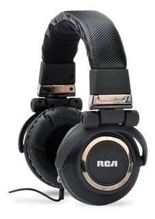 Auricular Rca Dj C Micrófono Dj91b Compatible Con Mac Y Play