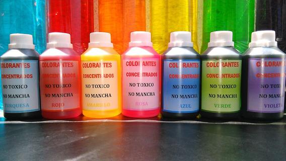 Colorantes Al Agua Para Difusores Detergente Jabones X 1 Lt