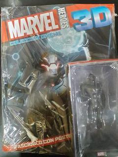 Marvel 3d, Gran Stock, Figuras Nuevas + Revista + Envios !!