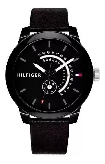 Relógio Tommy Hilfiger Masculino Couro 1791479 - Promoção!