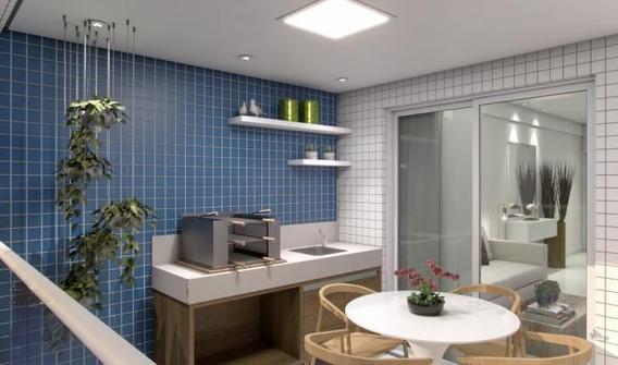Apartamento Em Centro, Itanhaém/sp De 64m² 2 Quartos À Venda Por R$ 359.912,00 - Ap436142
