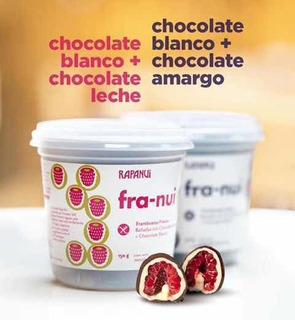 Franui Frambuesa Cubierta De Chocolate Con Leche O Amargo