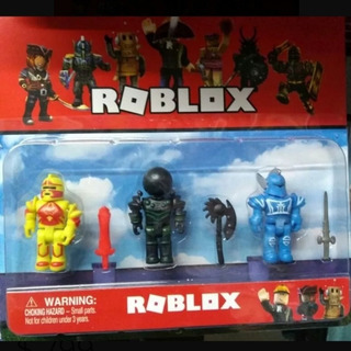 Roblox Muñecos Blister X3