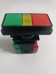 Botão De Comando Duplo Liga Desliga 22mm P/lâmpada Ba9s