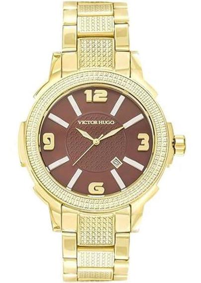 Relógio Feminino Victor Hugo 10086lsg/12m