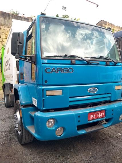 Ford Cargo 1717 08/09 Compactador**