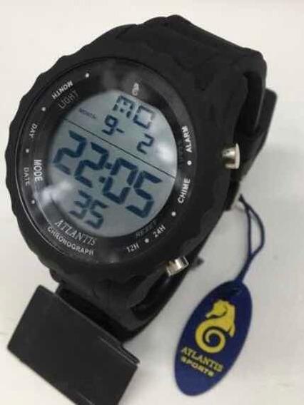 4 Relógios Atlantis A7457+ Bateria Extra + Caixinha Marca