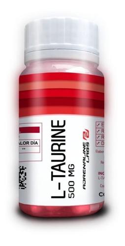 Taurina 500 Mg 100 Caps Adrenaline En Activatíonperu