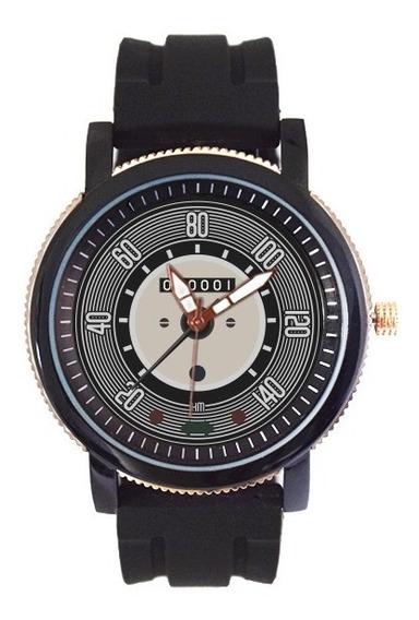Relógio Personalizado Velocímetro Vw Fusca Cinza 5036