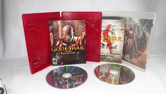 Jogo God Of War Trilogia Ps3 Mídia Física