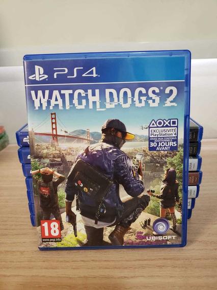 Jogo Ps4 Watch Dogs 2 Semi Novo